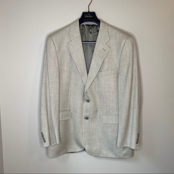 Brooks Brothers Other - Brooks Brothers 346 Sport Coat Gray textured 42